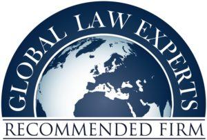 Global Law Experts - Recommended Law Firm Badge
